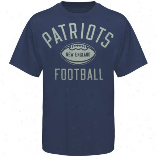 Just discovered England Patriot Apparel: Reebok Starting a~ England Patriot Navy Blue Work Out T-shirt