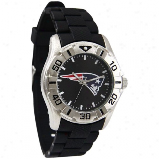 New England Patriot Watch : New England Patriot Stainless Steel Mvp Keep guard