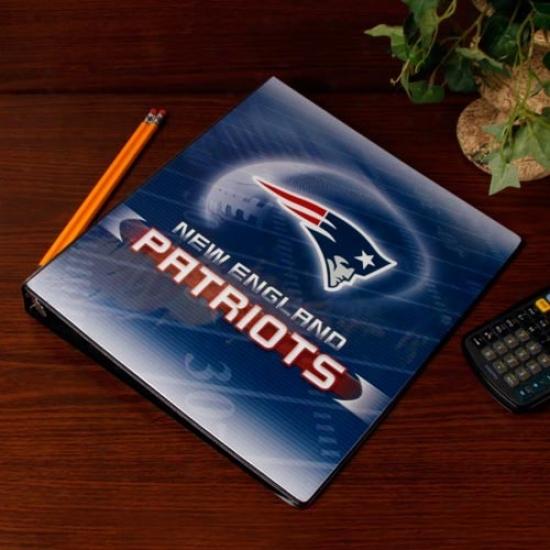 New England Patriots 1'' 3-ring Team Logo Binder
