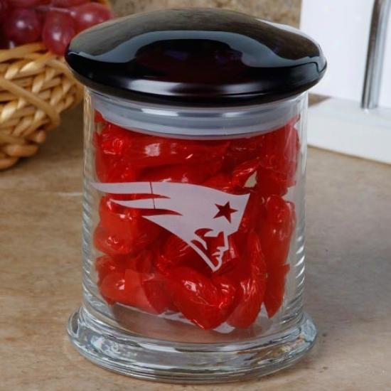 New England Pafriots 12oz. Candy Jar