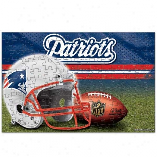Repaired England Patriots 150-piece Team Puzzle