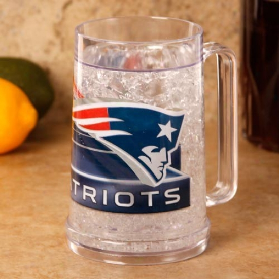 New England Patriots 16 Oz. Hi Def Freezer Mug