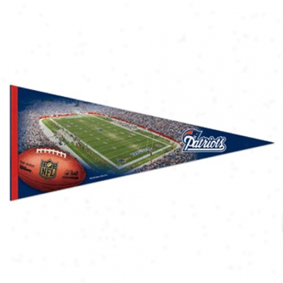 New England Patriots 17'' X 40'' Stadium Felt Pennant