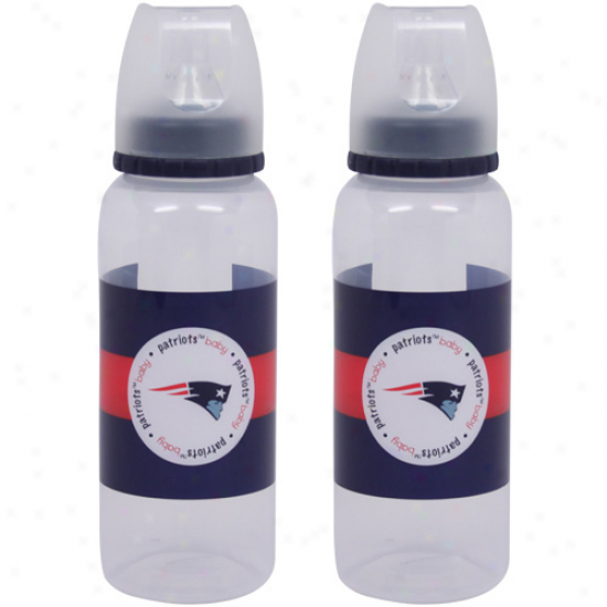 Novel England Patriots 2-pack Baby Bottles
