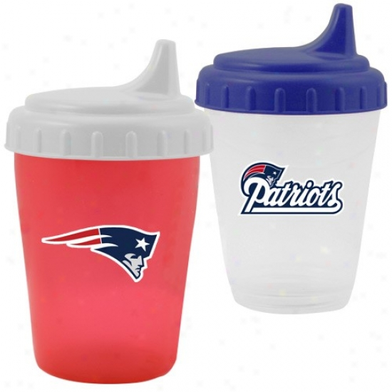 New England Patriots 2-pack Dripless Sippy Cup