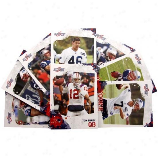 New England Patriots 2010 Team Set