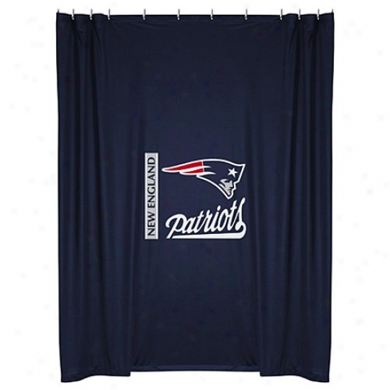 """new England Patriots 72""""x72"""" Showeer Curtain"""