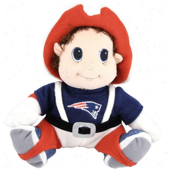 """new England Patriots 9"""" Plush Mascot"""
