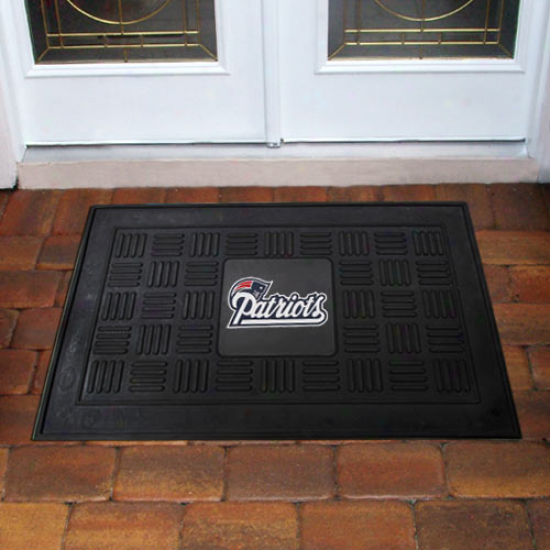 New England Patriots Dismal Team Logo Rubber Mat