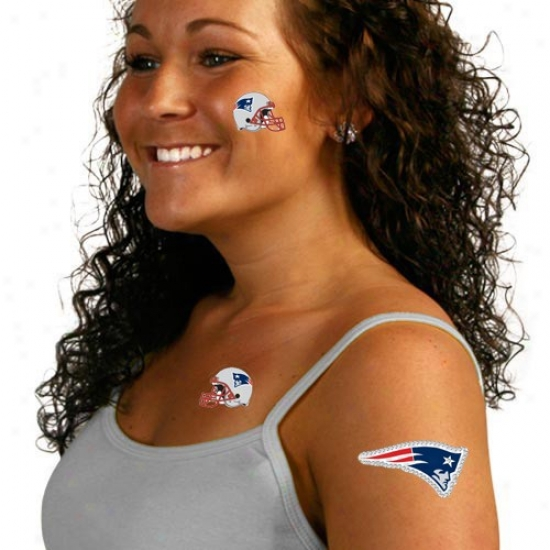 New England Patriots Body Art