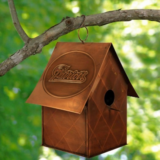 New England Patriots Copper Bird House