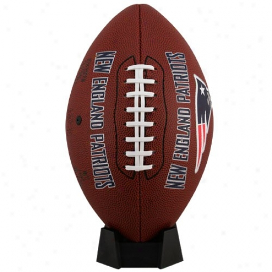 New England Patriots Full-size Game Time Football
