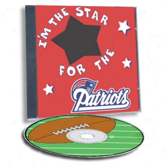 New England Patriots Game Hero Custom Sports Cd
