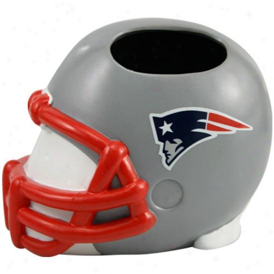 Starting a~ England Patriots Helmet Toothbrush Owner