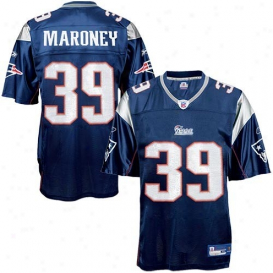 New England Patriots Jerseys : Reebok Nfl Equipment New England Patriots #39 Lawrence Maroney Navy Blue Youth Replica Football Jerseys