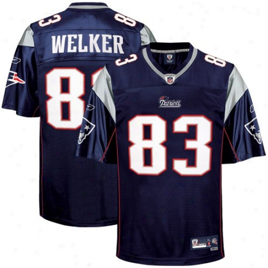 New England Patriots Jerseys : Reebok Nfl Equipment New England Patriots #83 Wes Welker Navy Blue Premier Tackle Twill Jerseys