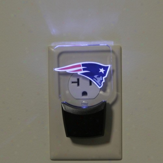 New England Patriots Led Night Light