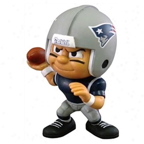 New England Patriots Lil' Teammates Qua5terback Figurine