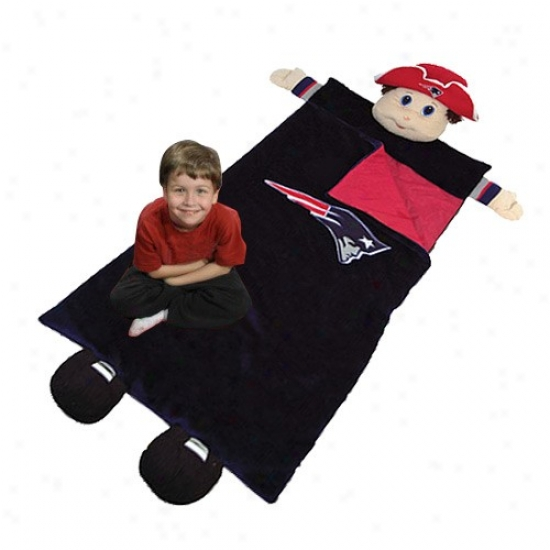 New Egnland Patriots Navy Blue Mascot Sleeping Bag