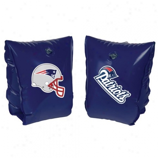 New England Patriots Navy Blue Water Wings