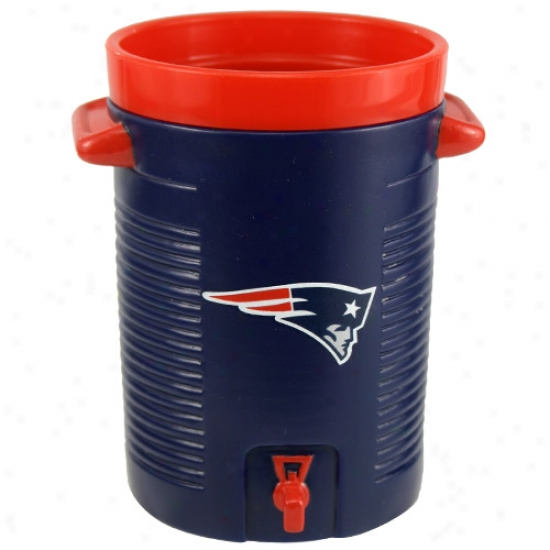 New England Patriots Navy Water Cooler Cup