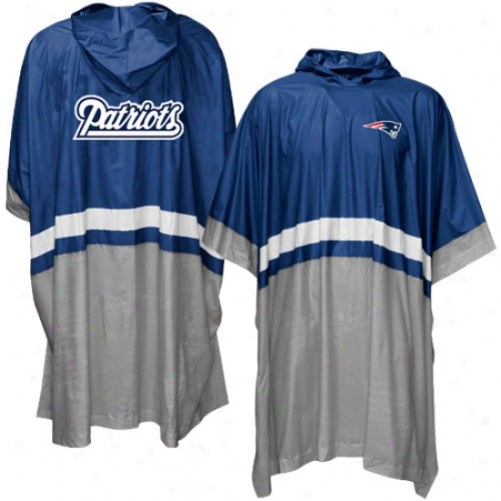 Repaired England Patriots Official Team Poncho