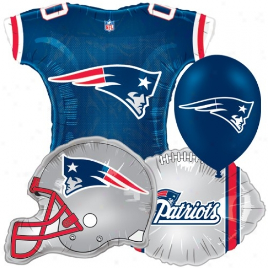 New England Patriots Parry Balloon Set