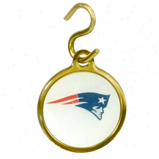 New England Patriots Favorite Id Tag