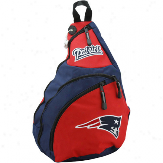 New England Patriots Red Slingshot Sling Bag