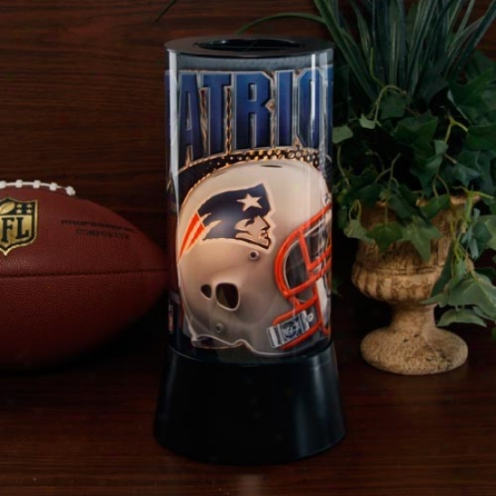 New England Patriots Rotating Lamp