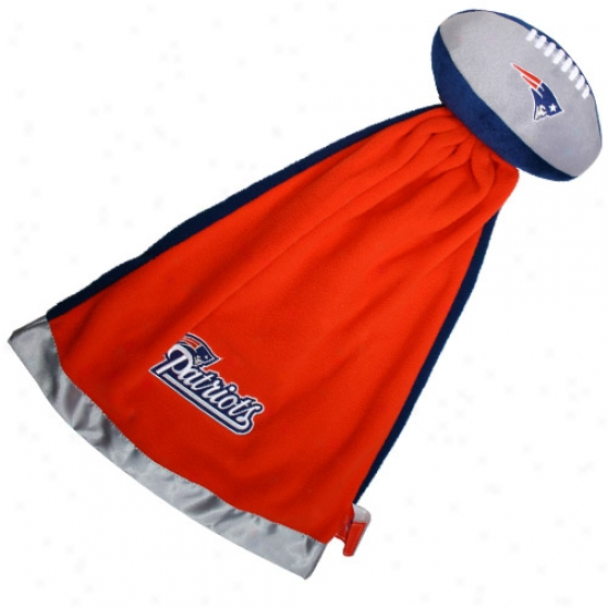New England Patriots Snuggle Ball Blanket