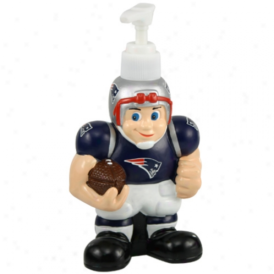 New England Patriots Soap Dispenser