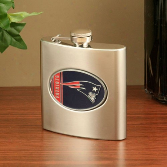 New England Patriots Stainless Steel Flask