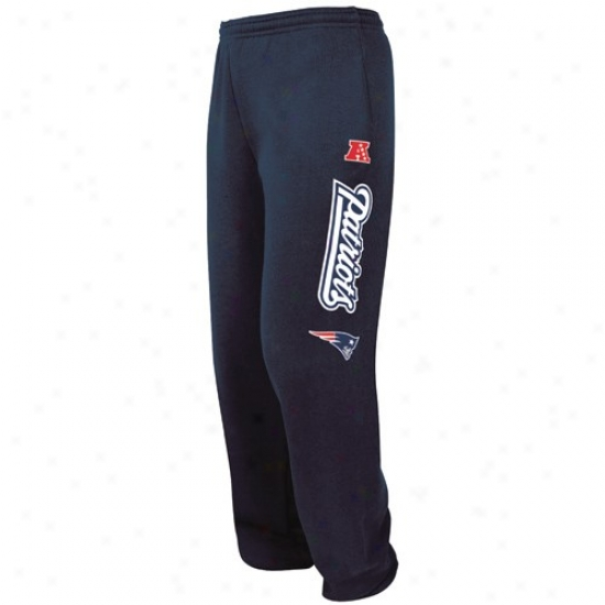 New England Patriots Sweat Shirt : Just discovered England Patriots Navyy Blue Critical Victory Iv Sweatpants