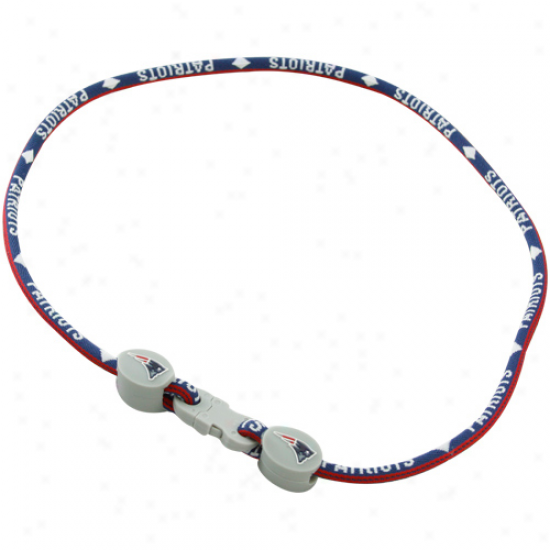 New England Patriots Titanium Sport Necklace