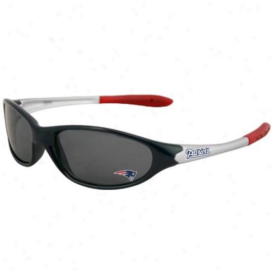 New England Patriots Youth Tri-color Sport Sunglasses