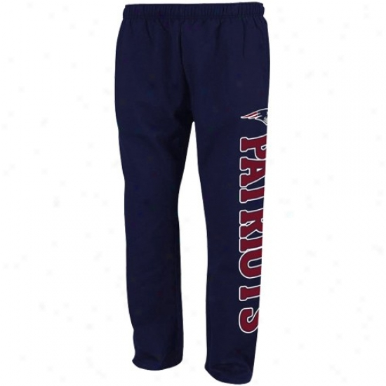 Novel England Pats Sweat Shirts : Reebok New England Pats Navy Blue Post Game Sweat Shirts Sweatpants