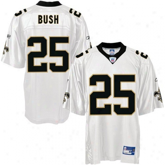 New Orleans Saint Jerseys : Reebok New Orleans Saint# 25 Reggie Bush White Youth Replica Football Jerseys