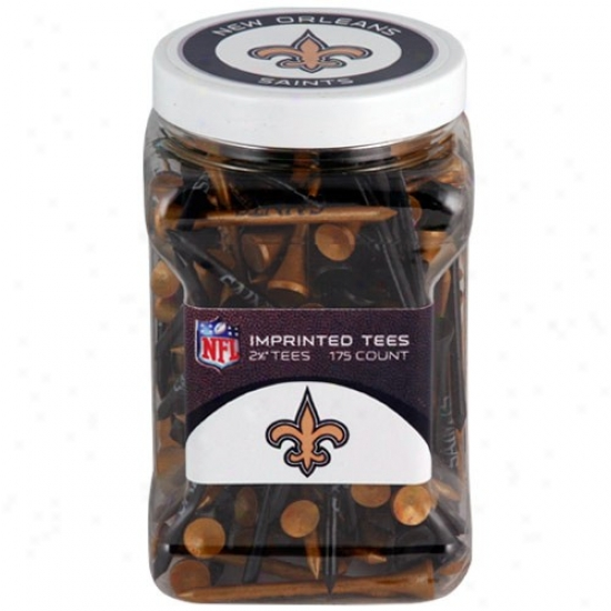 New Orleans Saints 175-count Golf Tees