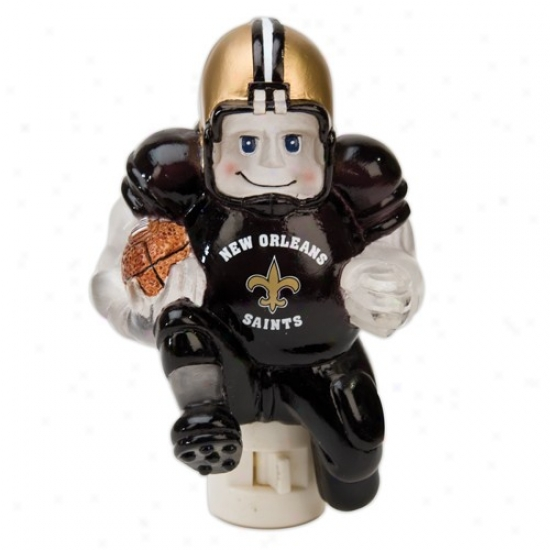 New Orleans Saints 5-inch Running Back Night Light