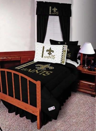 New Orleans Saints 82x84 Long Drapes