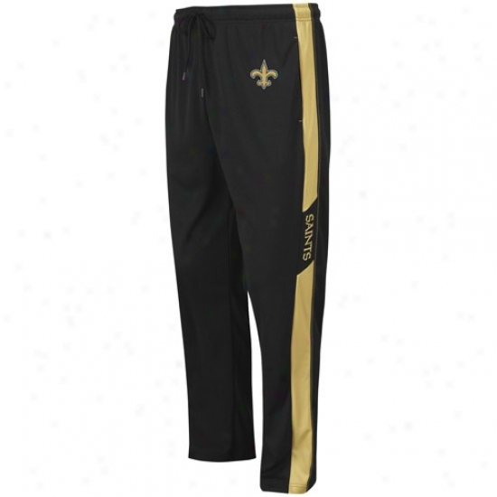 Nsw Orleans Saunts Black Classic Syntbetic Pants