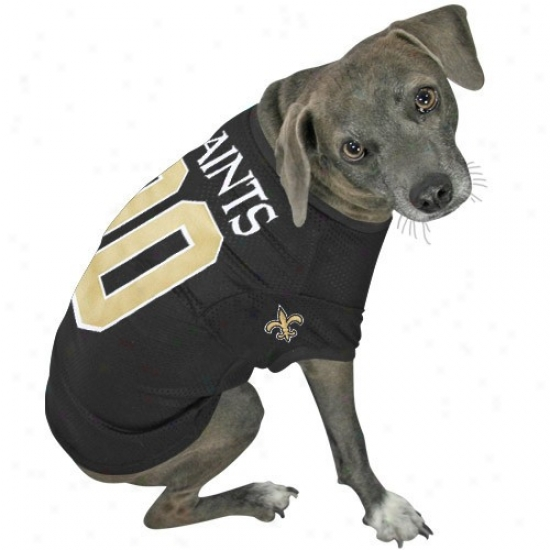 New Orleans Saints Black Dog Jersey