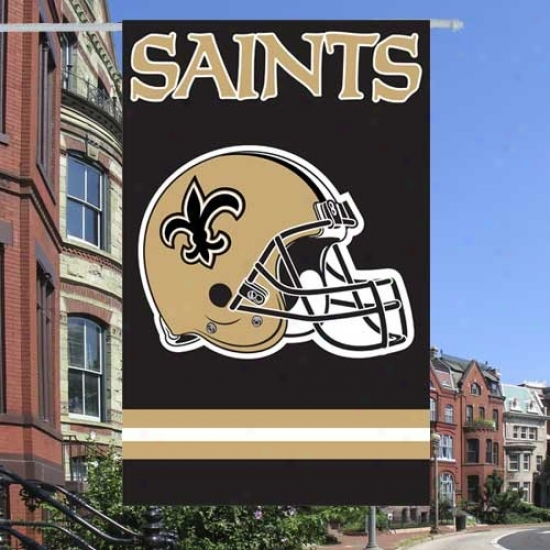New Orleans Saints Flags : New Orleans Saints Applique Nfl Flags