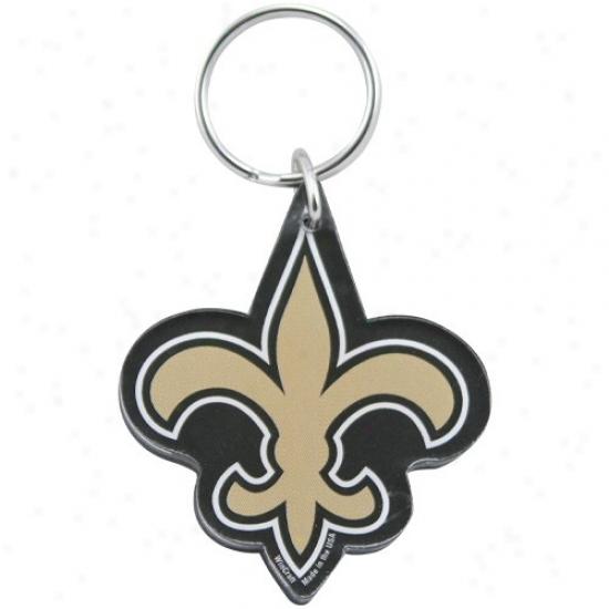 New Orleans Saints High Definition Logo Keychain