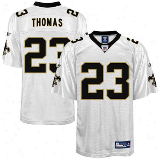 New Orleans Saints Jersey : Reebo kPierre Thomas New Orleans Saints Youth Replica Jersey - White