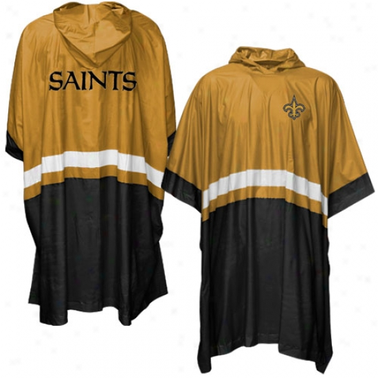 New Orleans Saints Official Team Poncho