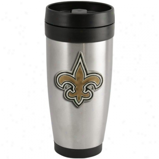 Recent Orlwans Saints Stainless Steel Team Logo Thermo Travel Tumbler
