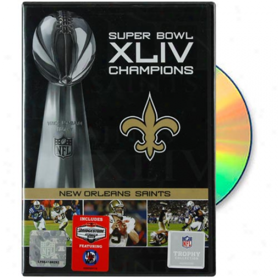 New Orleans Saints Super Bowl Xliv Champions 2009 Season Dvd