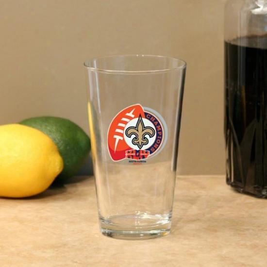 New Orleans Saints Super Bowl Xliv Championx 17oz. Mixing Glass